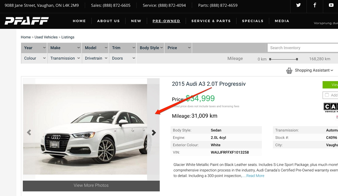 Vehicle-Listing-Page-Image-Slider