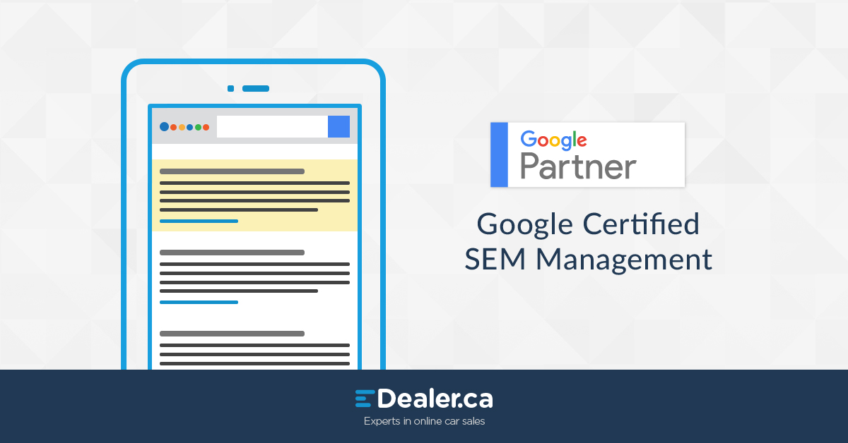 Google Certified SEM Management