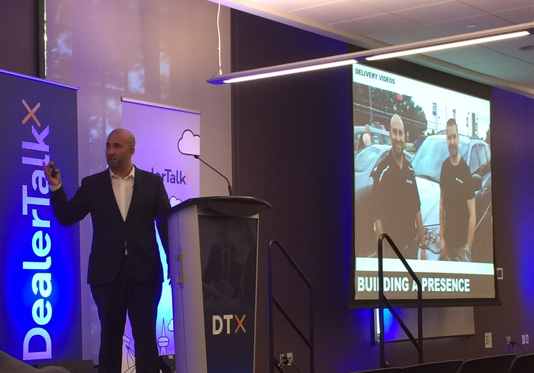 Kyle Costa talks Digital Disruption at DealerTalkX 2016.