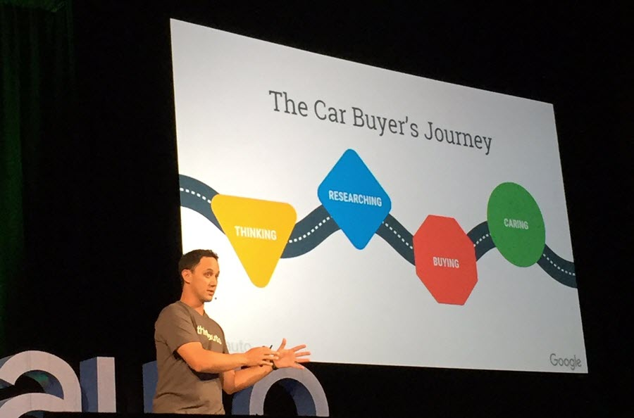 Dave Resnick, Head of Automotive at Google explains the 5 principles of The Car Buyers Journey.